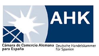 Logotipo Cámara de comercio alemana en España