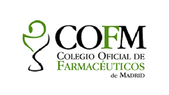 Logotipo  Colegio oficial de farmaceuticos de Madrid