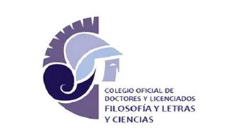 Logotipo  Colegio oficial de doctores y licenciados  en filosofía y letras y ciencias