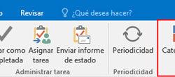 Las tareas en Outlook