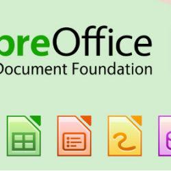 Instalar el programa LibreOffice 6.0